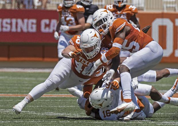 Texas Ehlinger Death Football