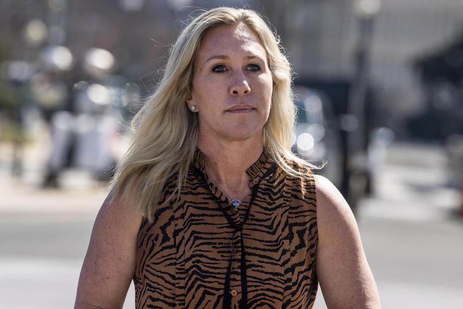 "Pelosi suggests ethics committee should investigate Marjorie Taylor Greene for ""verbal assault"" of Alexandria Ocasio-Cortez"