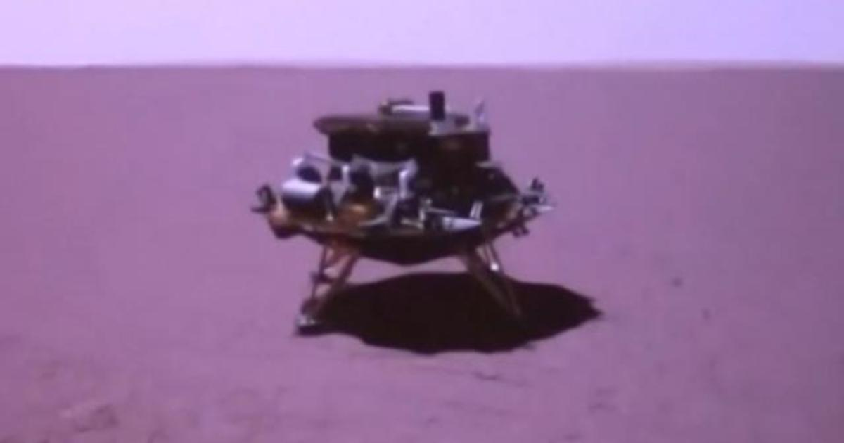 China successfully lands a rover on Mars