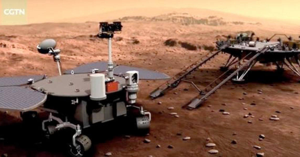 China successfully lands rover on Mars