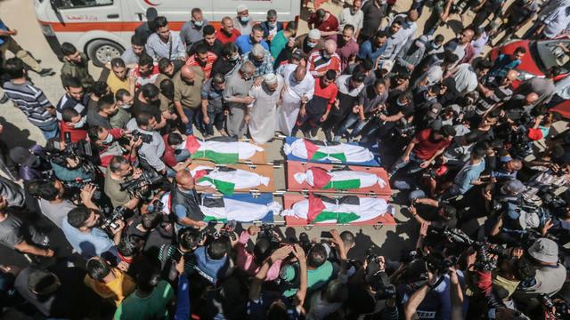 Funeral in Gaza
