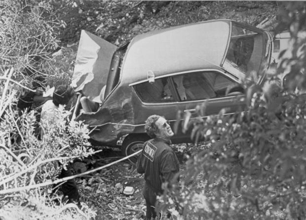 Police Investigating Murder Victim in Car
