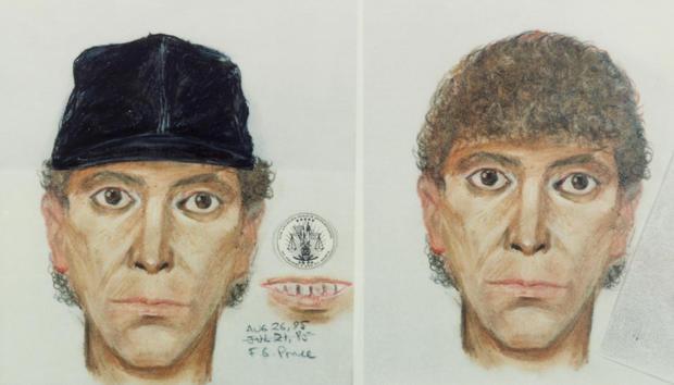Police Drawing of Los Angeles Night Stalker Killer
