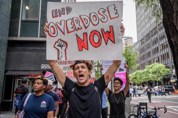 Protesters Want Drug Overdose Prevention Policies Enacted