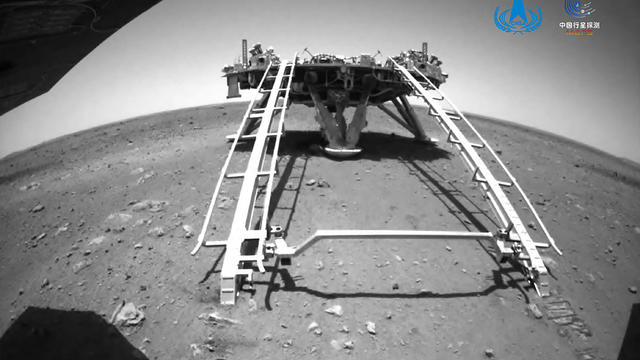 APTOPIX China Space Mars Mission