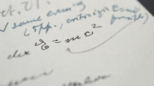 Einstein Letter Famous Equation
