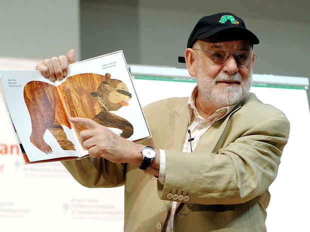 Eric Carle Reads Excerpts From His Book