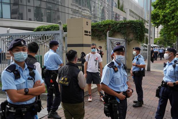 Tiananmen anniversary in Hong Kong