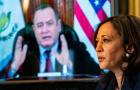 Vice President Kamala Harris Meets Virtually With Guatemalan President Alejandro Giammattei