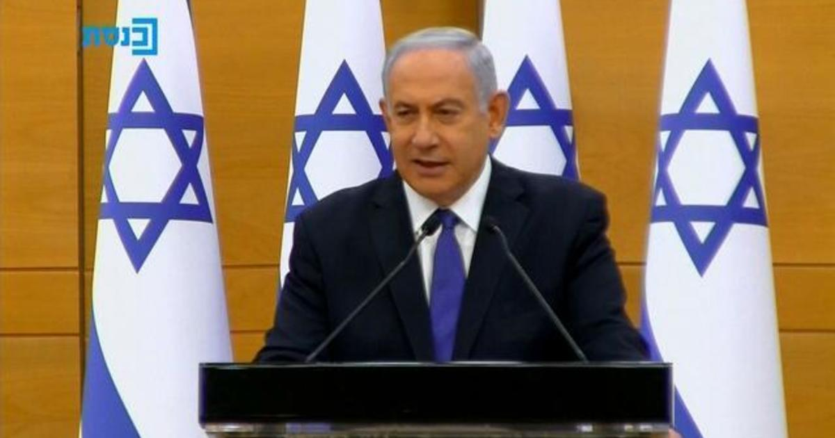 Israel's parliament to vote on new unity government that could see Netanyahu lose power