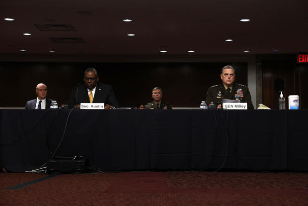 Senate Armed Services Committee Hears Testimony From Defense Officials On Budget