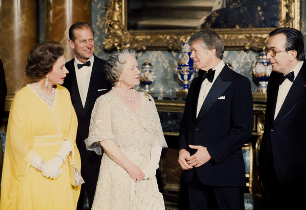 Politics - World Leaders at Buckingham Palace, London