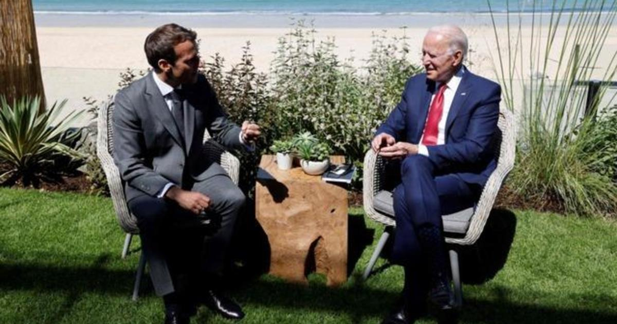 Biden heads to U.N. General Assembly amid tensions with France