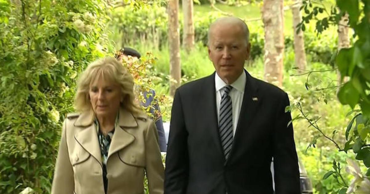 Biden arrives in Brussels after weekend of G-7 meetings