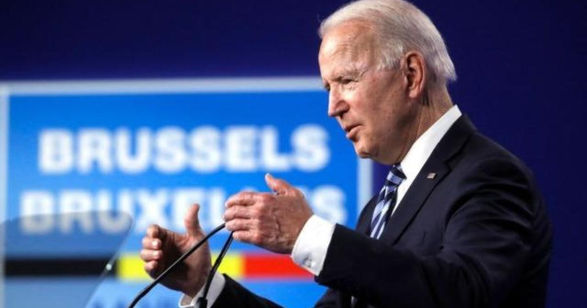 """Biden says U.S. """"not looking for conflict"""" with Russia ahead of meeting with Putin"""