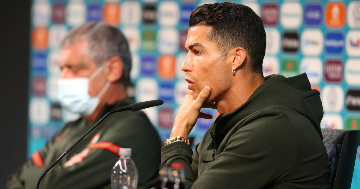 Cristiano Ronaldo snubbed Coca-Cola. Then their market value sank $4 billion.