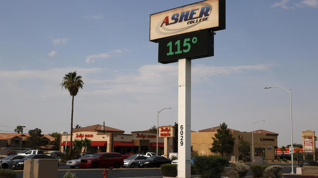 Heat Wave Continues in Southwest United States