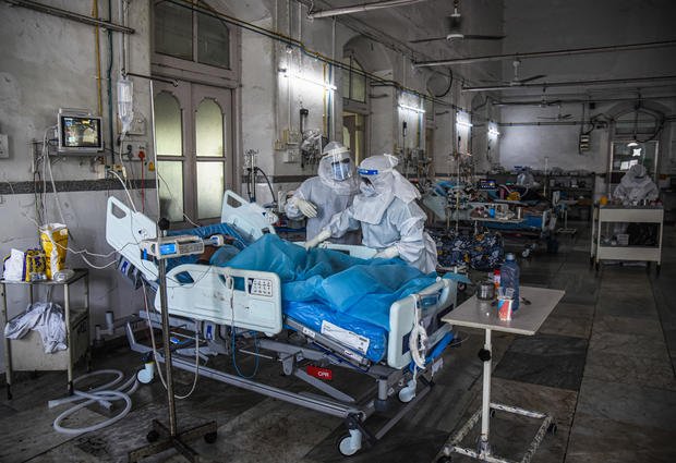 Government Hospitals Struggle With Covid Patient Influx