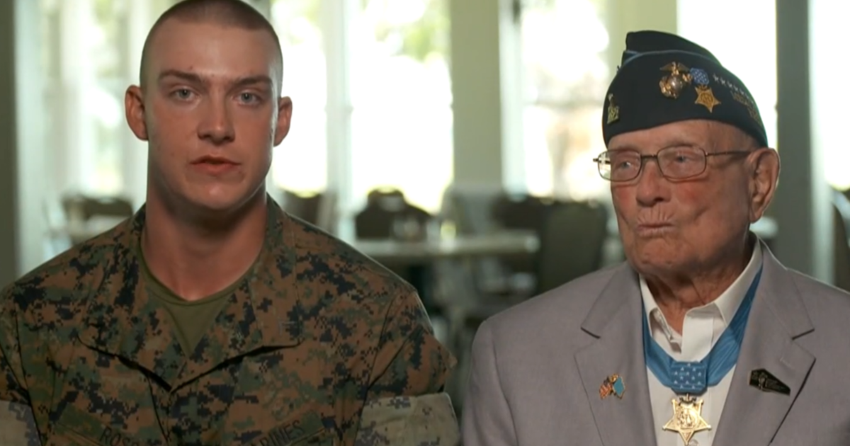 Great-grandson of Medal of Honor recipient completes boot camp