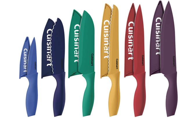 Cuisinart 12 Piece Color Knife Set