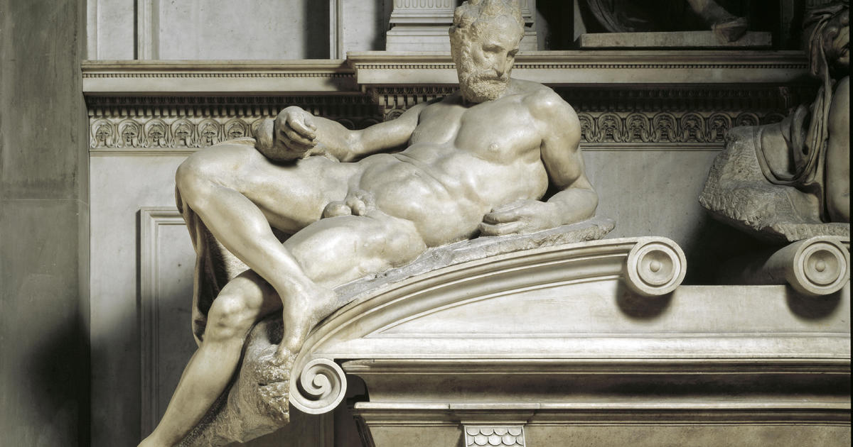 An Italian museum is using flesh-eating bacteria to clean Michelangelo's statues — because they're full of corpses