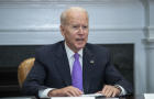 President Biden Holds Meeting On FEMA's Response To Extreme Weather Events