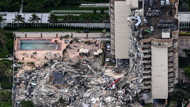 Photos: Florida beachfront condo collapses