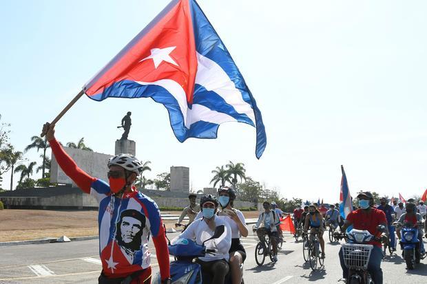CUBA-RALLY-U.S. EMBARGO