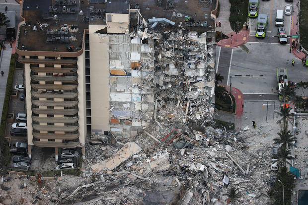 collapsed florida building