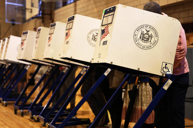 New Yorkers Vote In Mayoral Primary Election