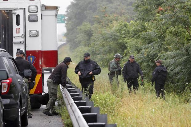 Traffic Stop Armed Men
