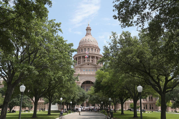 Rally To Open Texas Businesses Back Up Held In Austin