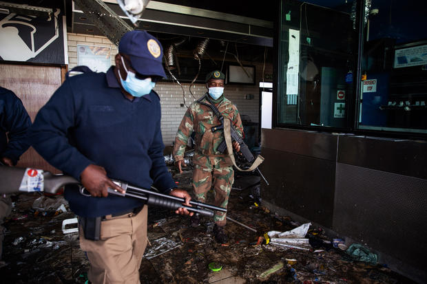 Violence And Looting Continue In Gauteng
