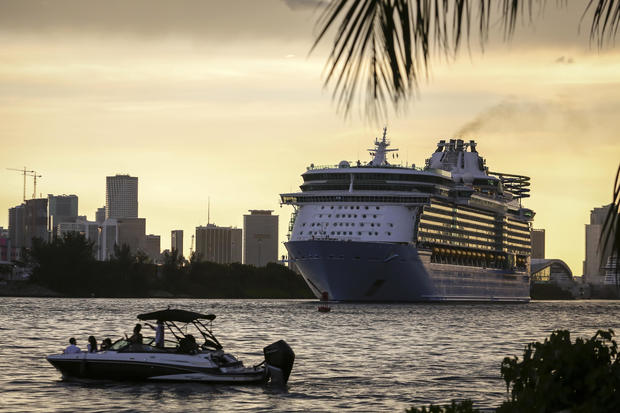 Royal Caribbean Departs On First Simulated Voyage