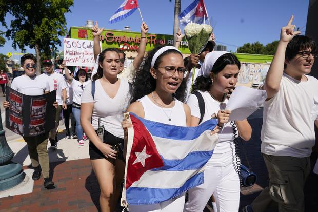 Cuba Protests Miami
