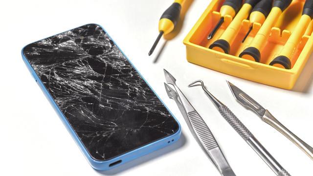 Smashed/broken mobile phone repair