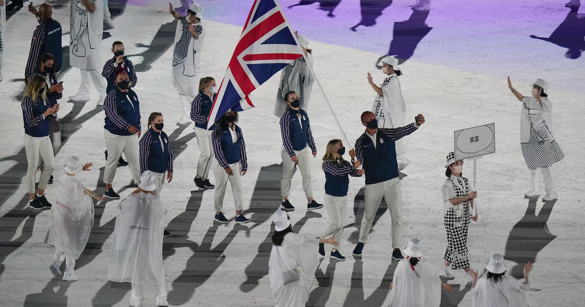 The opening ceremony kicks off the Tokyo Olympics in an ...