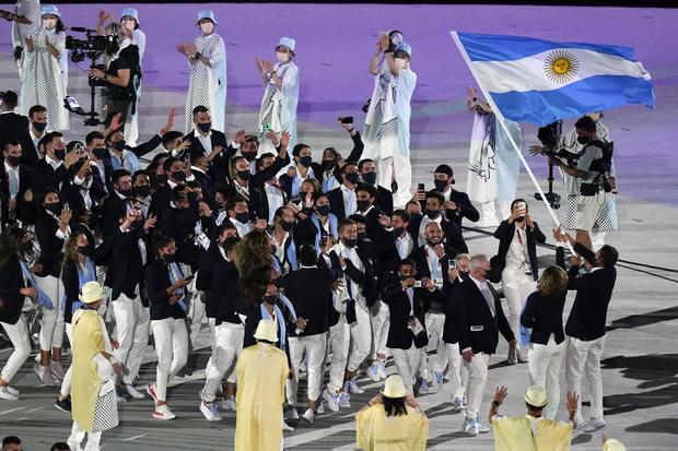 APTOPIX Tokyo Olympics Opening Ceremony