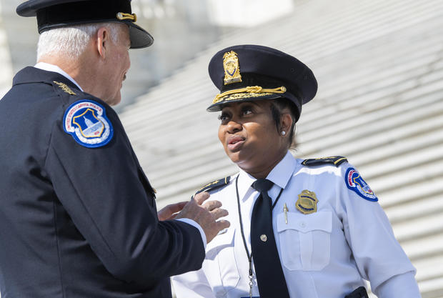 Capitol Police Chief Ceremony