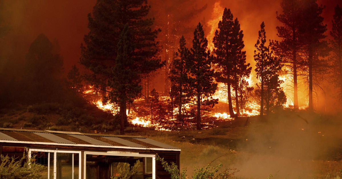 California and Nevada governors urge federal aid to fight wildfires