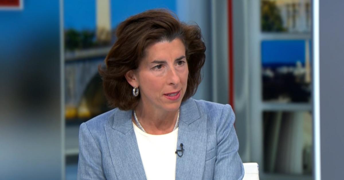 Transcript: Commerce Secretary Gina Raimondo on