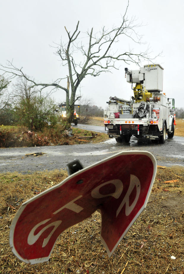 Deadly Tornadoes Hit Northeast Alabama