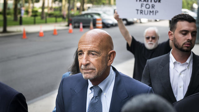 Ex-Trump Ally Tom Barrack And Defendant Matthew Grimes Appear In Criminal Court