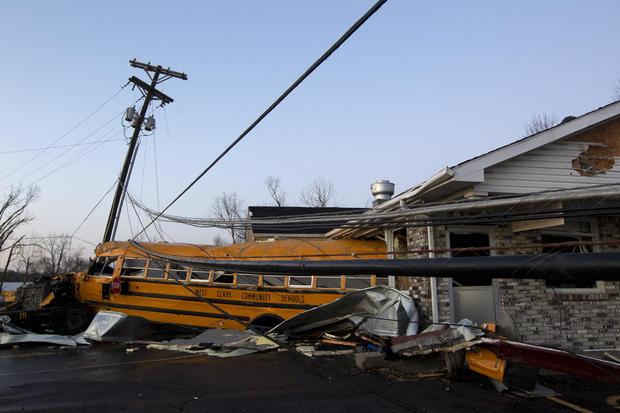 APTOPIX Indiana Tornado