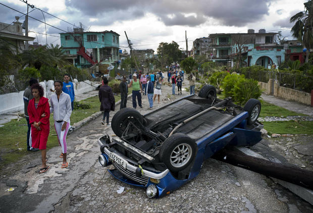 APTOPIX Cuba Tornado