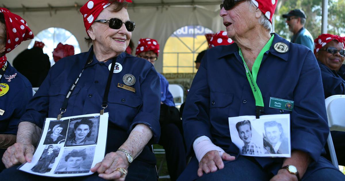 """""""Rosie the Riveter"""" Phyllis Gould dies at 99"""