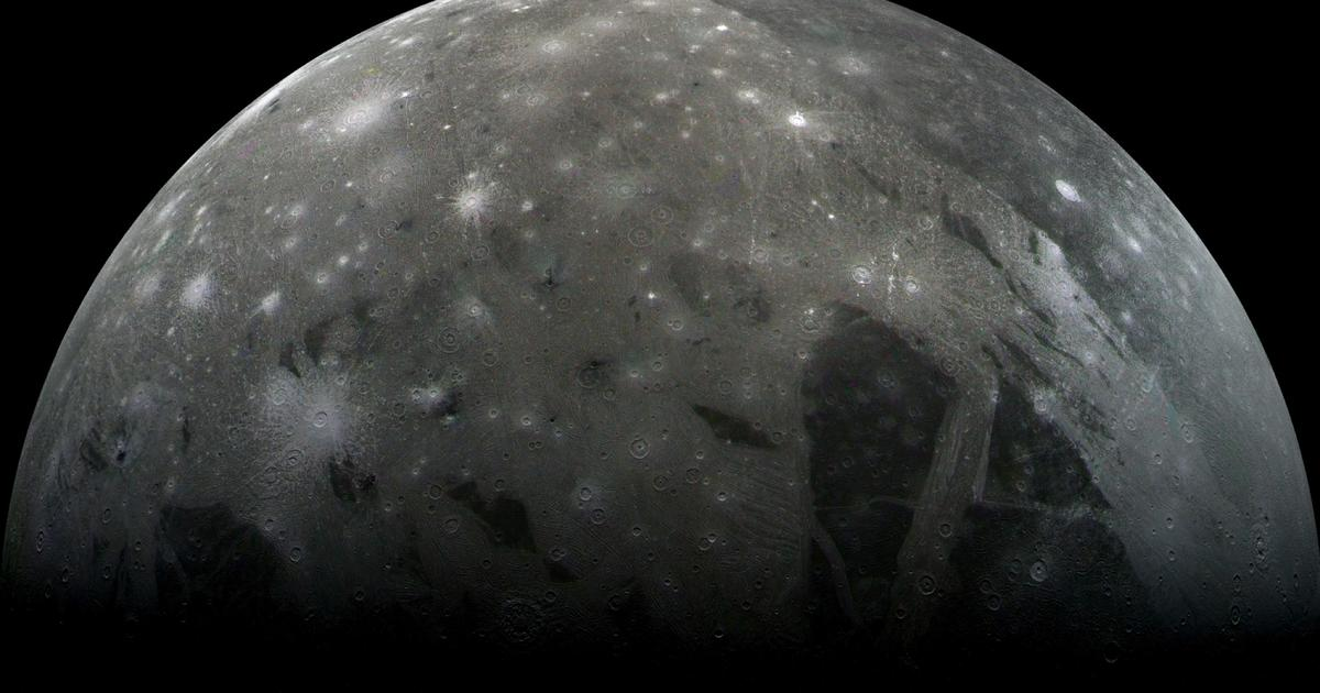 NASA detects water vapor on Jupiter's Ganymede — the largest moon in the solar system