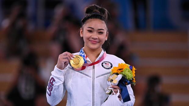 Gymnastics - Artistic - Women's Individual All-Around - Medal Ceremony