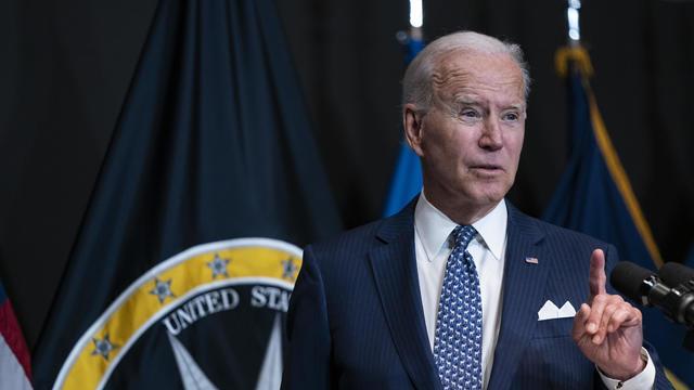 President Biden Visits Office Of Director Of National Intelligence