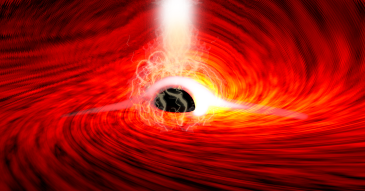 Astronomers spot light from behind a black hole for the first time — proving Einstein right, again - CBS News